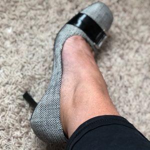 Bandolino Plaid Buckle Heels 🔥EUC🔥